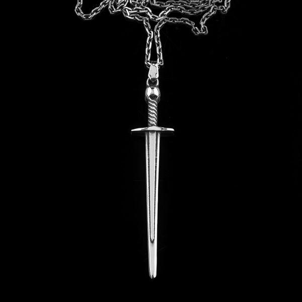 GAL Silver sword pendant