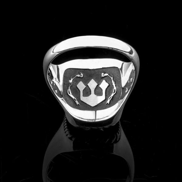 John- silver skull ring
