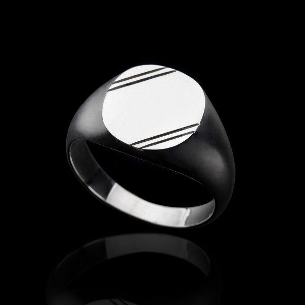 Clyde- signet ring
