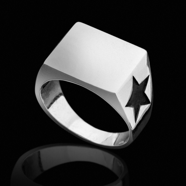 Silver Stars Ring