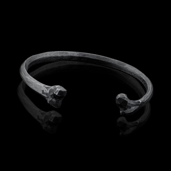Silver Bone Cuff